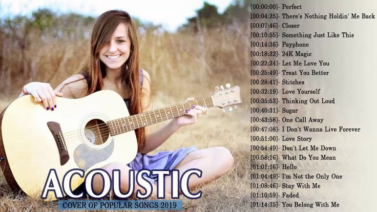 Acoustic version of popular songs mp3
