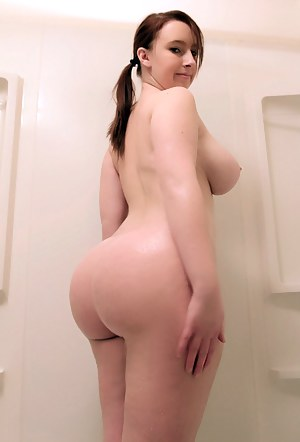 Young big booty naked