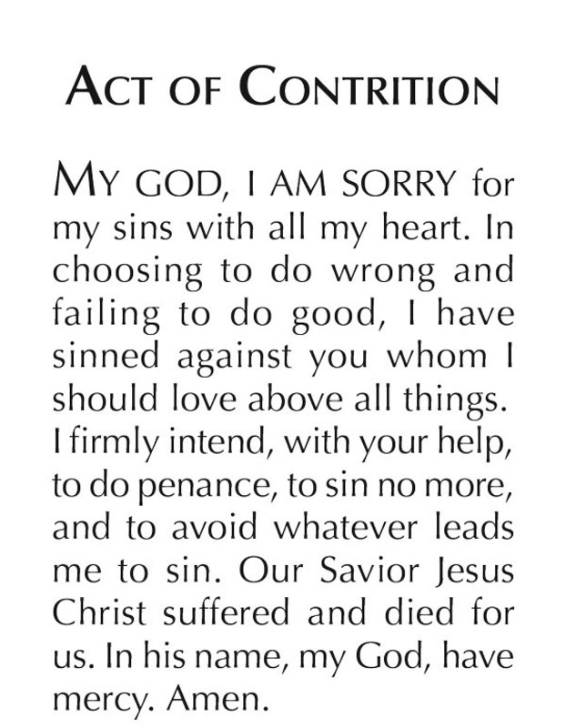 Act of contrition