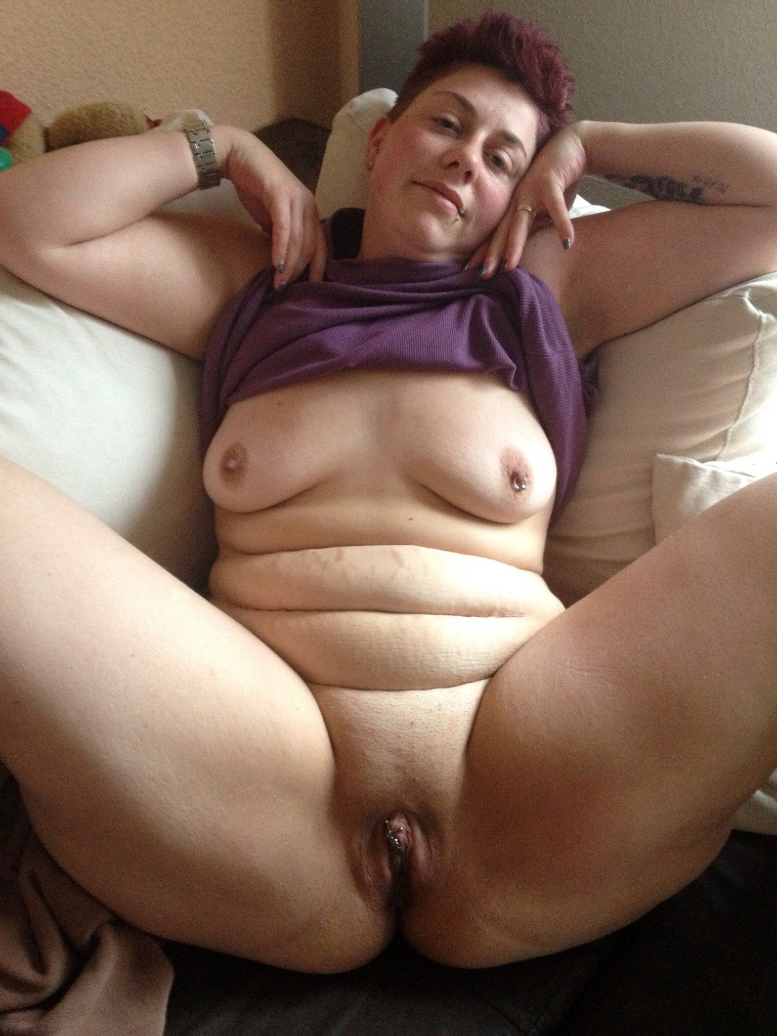 Granny playing with pussy