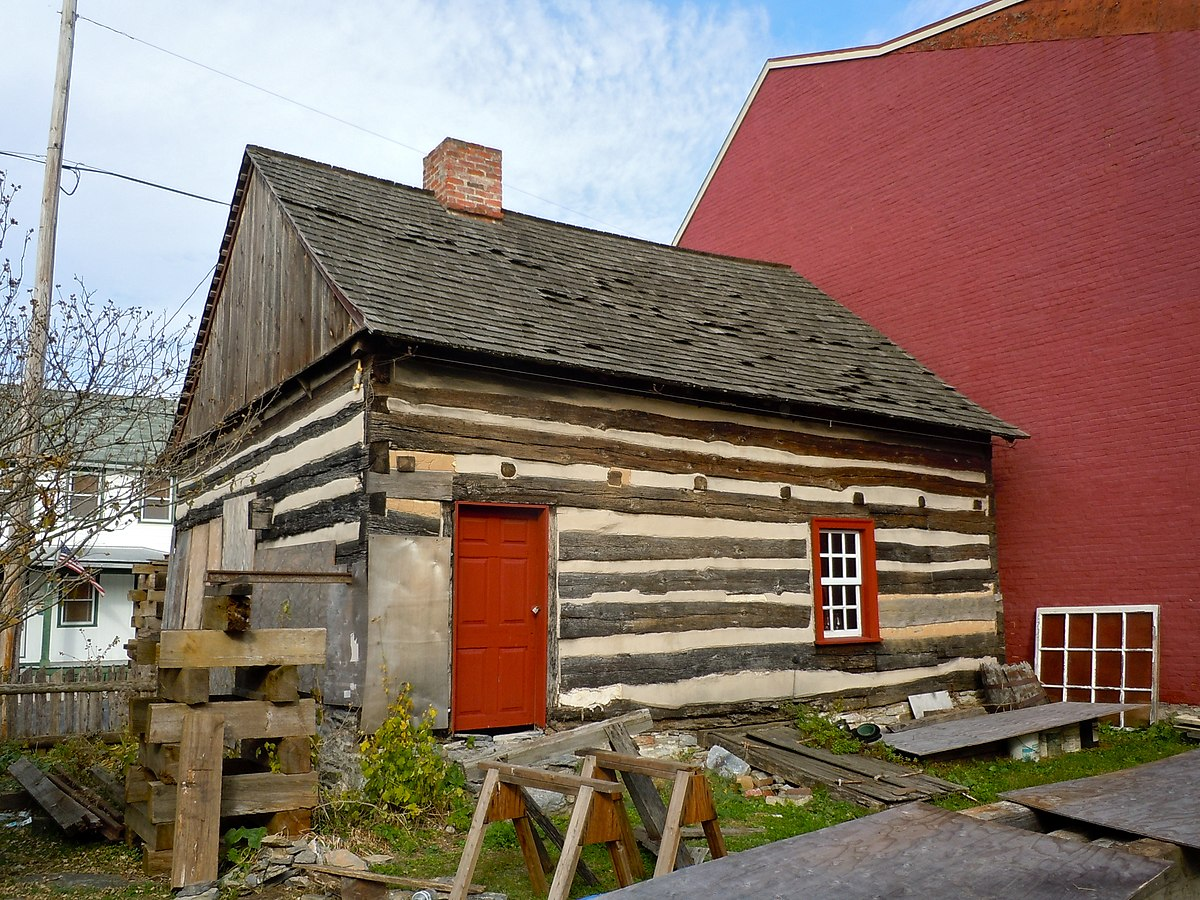 The old log house bedford pa